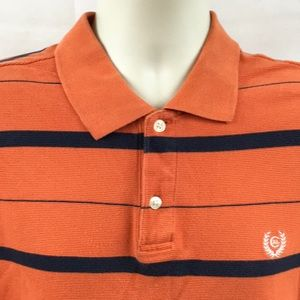 🔥4 for 20 Chaps RL Orange Striped Polo